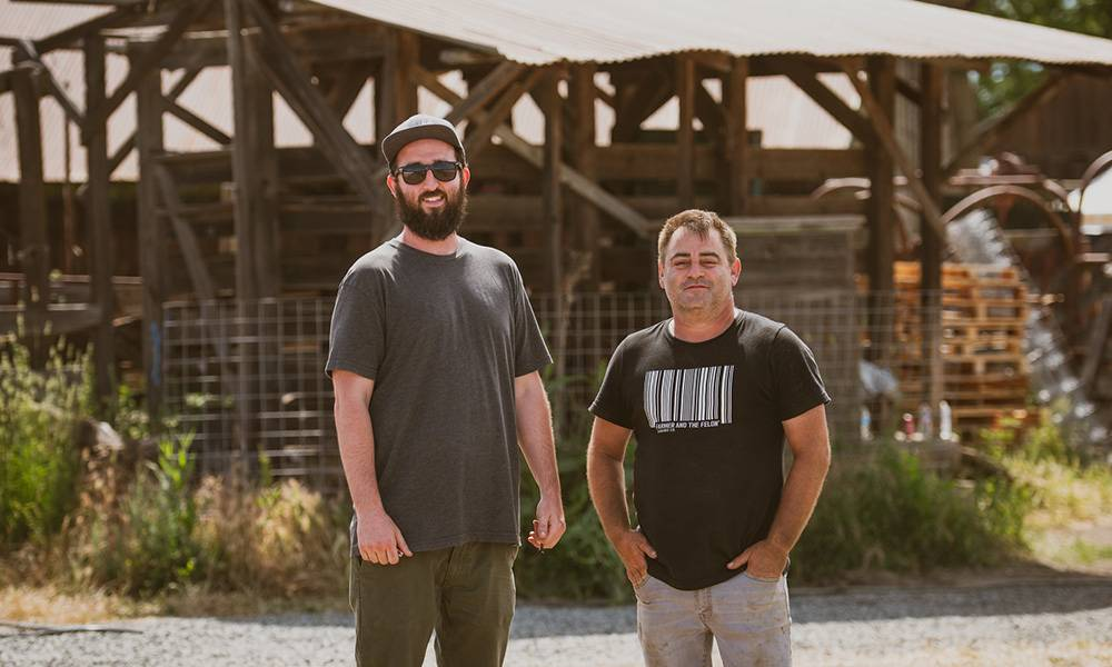 CannaCraft Co-founders Ned Fussel and Dennis Hunter